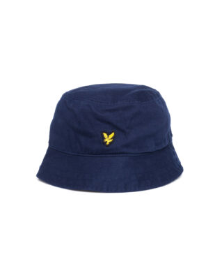 Lyle & Scott Cotton Twill Bucket Hat Dark Navy