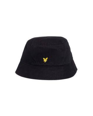 Lyle & Scott Cotton Twill Bucket Hat True Black-Import SS19