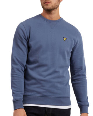 Lyle & Scott Crew Neck Sweatshirt Indigo Blue