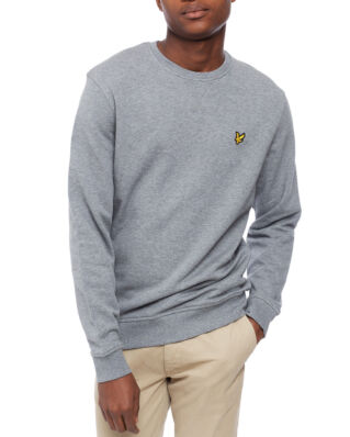 Lyle & Scott Crew Neck Sweatshirt Mid Grey Marl
