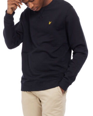 Lyle & Scott Crew Neck Sweatshirt True Black