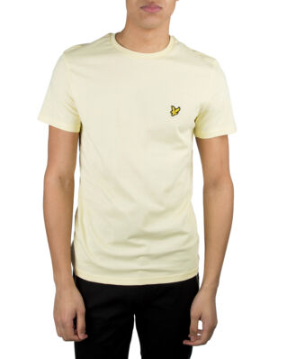 Lyle & Scott Crew Neck T-Shirt Buttercream