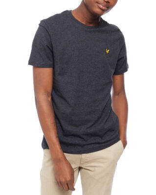 Lyle & Scott Crew Neck T-Shirt Charcoal Marl