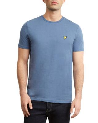 Lyle & Scott Crew Neck T-Shirt Indigo Blue