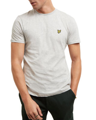 Lyle & Scott Crew Neck T-Shirt Light Grey Marl