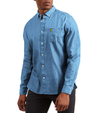 Lyle & Scott Denim Shirt Light Indigo