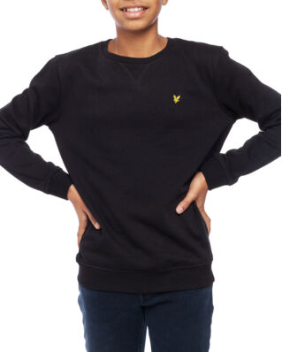 Lyle & Scott Junior Classic Crew Neck Fleece True Black
