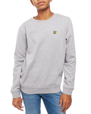 Lyle & Scott Junior Classic Crew Neck Fleece Vintage Grey Heather