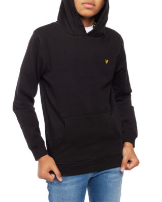 Lyle & Scott Junior Classic OTH Hoody Fleece Black