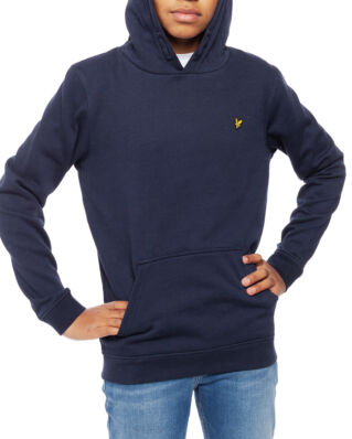 Lyle & Scott Junior Classic OTH Hoody Fleece Navy Blazer