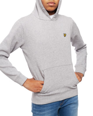 Lyle & Scott Junior Classic OTH Hoody Fleece Vintage Grey Heather