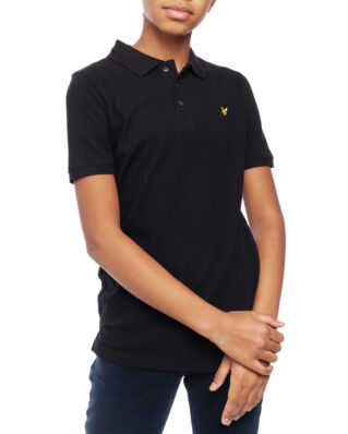 Lyle & Scott Junior Classic Polo Shirt True Black