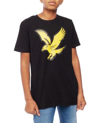 Lyle & Scott Junior Eagle Logo T-Shirt  Black