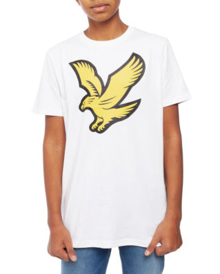 Lyle & Scott Junior Eagle Logo T-Shirt Bright White