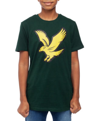 Lyle & Scott Junior Eagle Logo T-Shirt Pine Grove