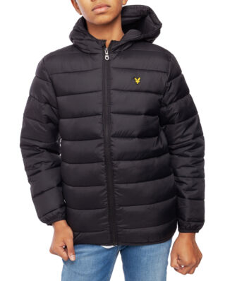 Lyle & Scott Junior Puffa Jacket Black