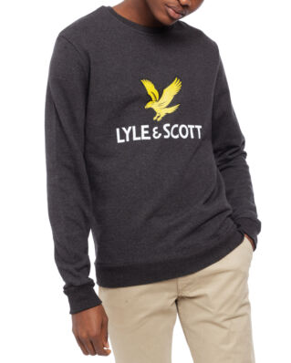 Lyle & Scott Logo Sweatshirt Charcoal Marl