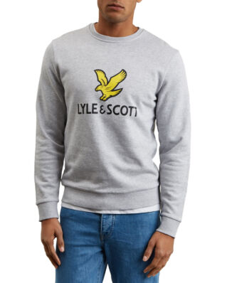 Lyle & Scott Logo Sweatshirt Light Grey Marl