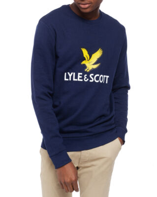 Lyle & Scott Logo Sweatshirt Navy