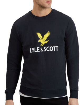 Lyle & Scott Logo Sweatshirt True Black