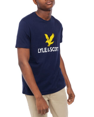 Lyle & Scott Logo T-shirt Navy