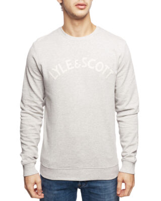 Lyle & Scott L&S Logo Sweatshirt Light Grey Melange