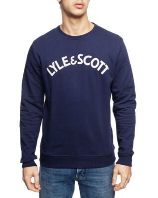 Lyle & Scott L&S Logo Sweatshirt Navy