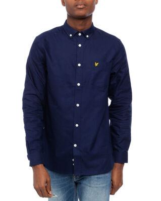Lyle & Scott Oxford Shirt Navy