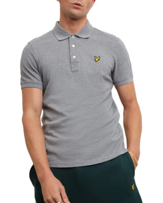 Lyle & Scott Polo Shirt Mid Grey Marl