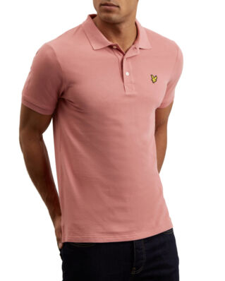 Lyle & Scott Polo Shirt Pink Shadow