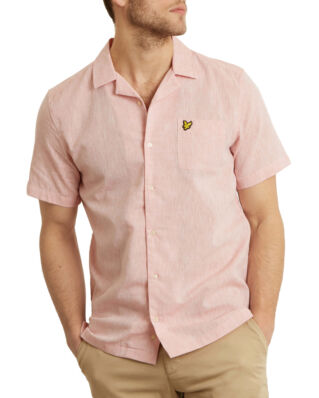 Lyle & Scott Resort Shirt Coral Way