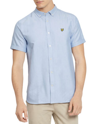 Lyle & Scott SS Oxford Shirt Riviera