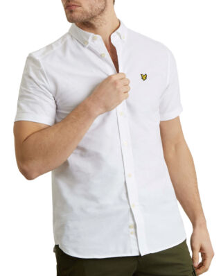 Lyle & Scott SS Oxford Shirt White
