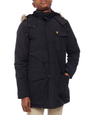 Lyle & Scott Winter Weight Microfleece Jacket True Black