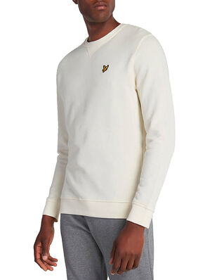 Lyle & Scott Crew Neck Sweatshirt Vanilla Ice