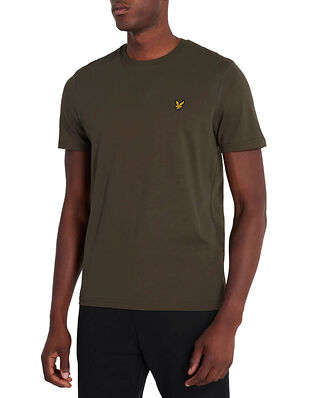 Lyle & Scott Plain T-shirt Trek Green