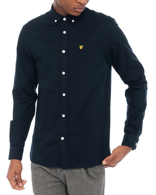 Lyle & Scott Regular Fit Light Weight Oxford Shirt Dark Navy