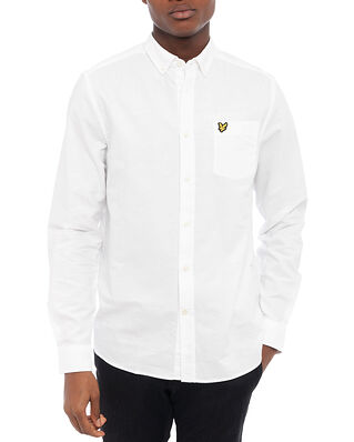 Lyle & Scott Regular Fit Light Weight Oxford Shirt White