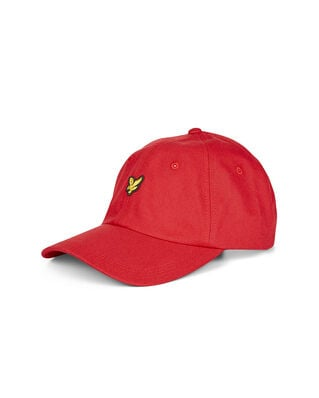Lyle & Scott Baseball Cap Gala Red
