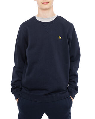 Lyle & Scott Classic Crew Neck Fleece Navy