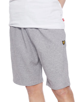 Lyle & Scott Junior Classic Sweat Short Vintage Grey Heather