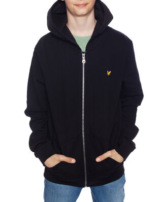 Lyle & Scott Junior Classic Zip Hoodie True Black