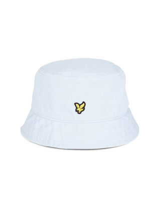 Lyle & Scott Cotton Twill Bucket Hat White