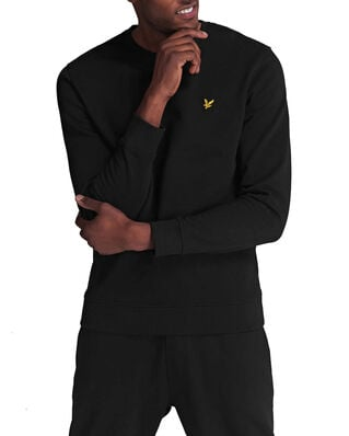 Lyle & Scott Crew Neck Sweatshirt Jet Black