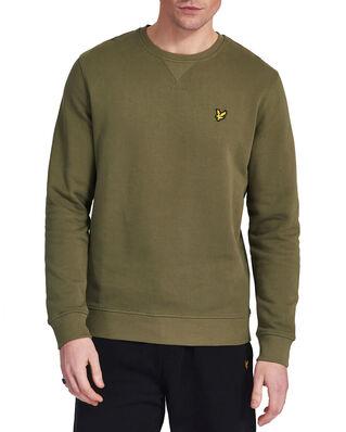 Lyle & Scott Crew Neck Sweatshirt Lichen Green