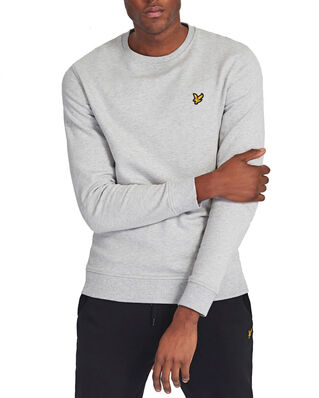 Lyle & Scott Crew Neck Sweatshirt Light Grey Marl