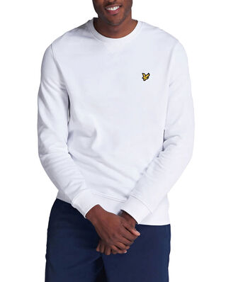 Lyle & Scott Crew Neck Sweatshirt White