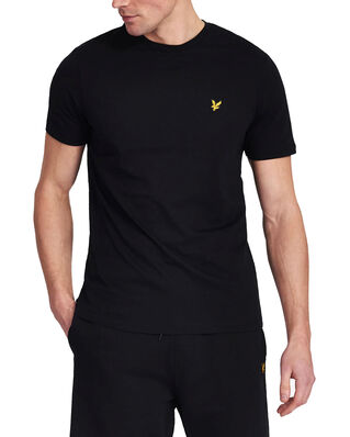 Lyle & Scott Crew Neck T-Shirt Jet Black
