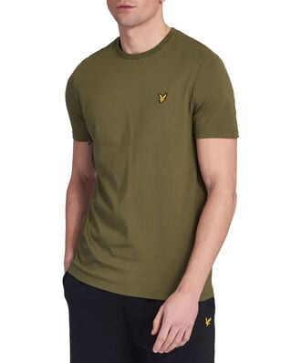 Lyle & Scott Crew Neck T-Shirt Lichen Green