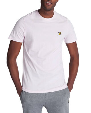 Lyle & Scott Crew Neck T-Shirt Strawberry Cream